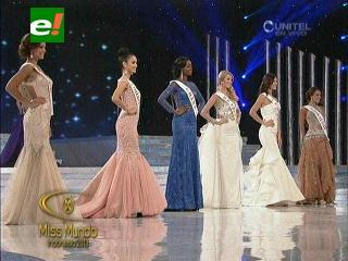 Las 6 finalistas del Miss Mundo 2013