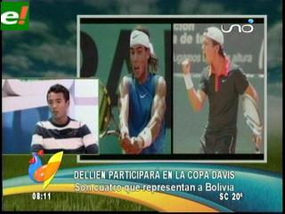 Hugo Dellien el boliviano que le ganó a Nadal