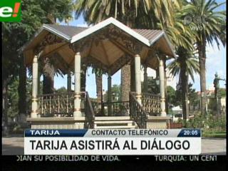 Tarijeños y chuquisaqueños van al diálogo en Santa Cruz