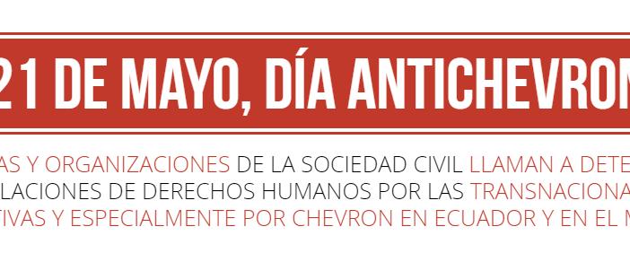 Día Internacional Anti Chevron (Carta abierta)