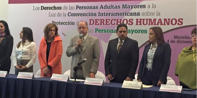 Inauguración del foro sobre Derechos Humanos de Adultos Mayores