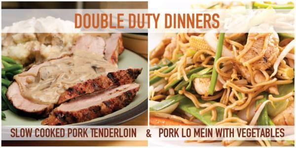 Double Duty Dinner 1