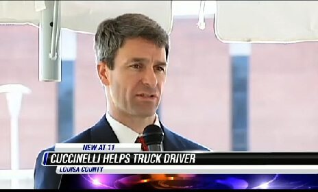 Truck Driver Actually Helped by Politician
