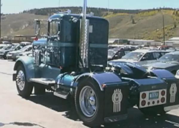 Classic Truck- 54 Kenworth 2 Axle