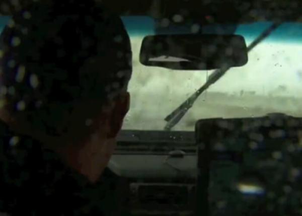 Driving Into A Tornado