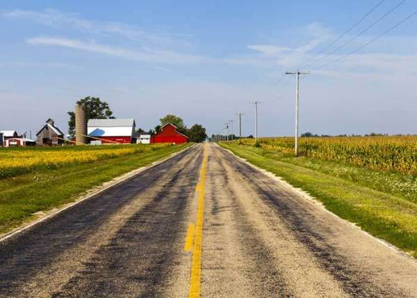 Iowa Launches Campaign to Reduce Fatalities on Rural Roads