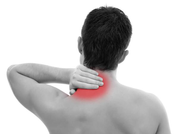 As many truck drivers can attest, siting in one position for long stretches often causes tight muscles, particularly in the neck. If certain locations in your neck are especially tight and agonizing, and you can literally put your finger on the spot where the pain originates, you may have a trigger point.