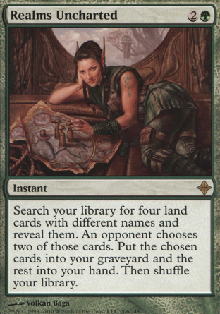 Realms Uncharted in Rise of the Eldrazi