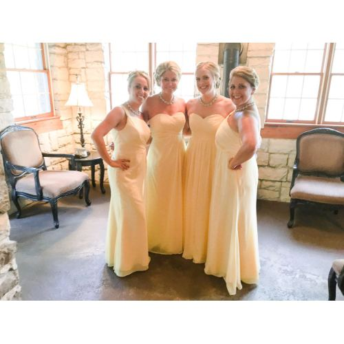 Medium Crop Of Orange Bridesmaid Dresses