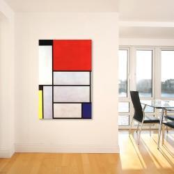 I 1921 by Piet Mondrian Canvas Print