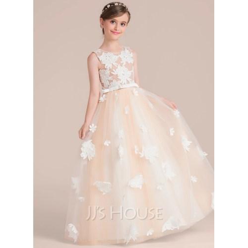 Medium Crop Of Flower Girl Dress