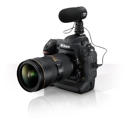 Microfono Nikon D5