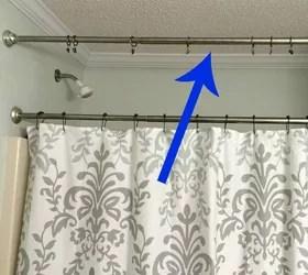 Medium Of Tension Rod Curtains