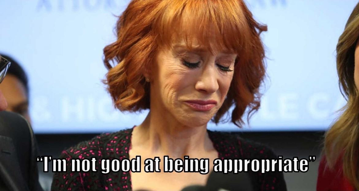Diversity     What The Kathy Griffin Fiasco Teaches Us Just ask Kathy Griffin  She got into some scalding water for a staged photo  of herself holding President Trump s severed head