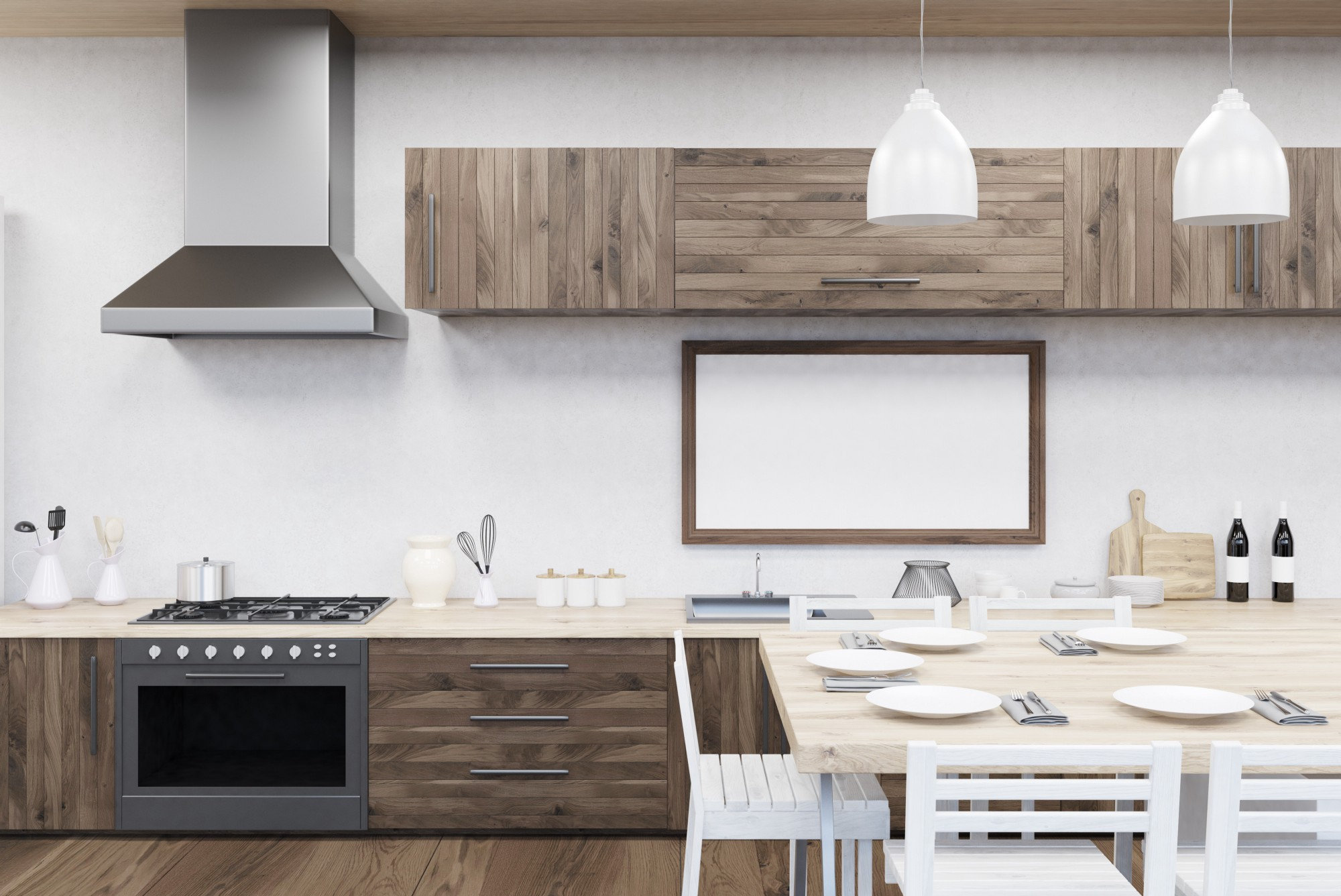 Fullsize Of One Wall Kitchen