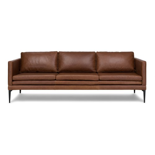 Medium Crop Of Brown Leather Couch