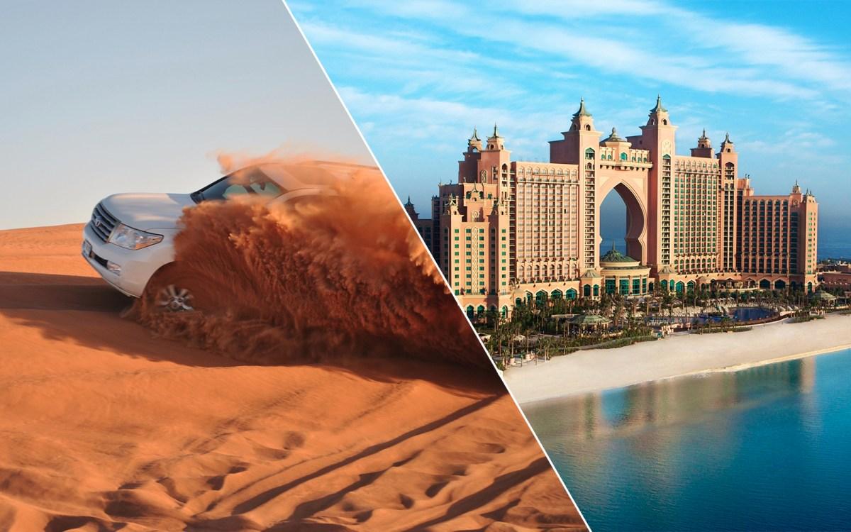 Dhow Dinner Cruise. Dubai City Tour & Desert Safari Combo Tickets