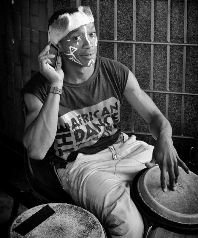Cape Town's Iconic Long Street - young drummer