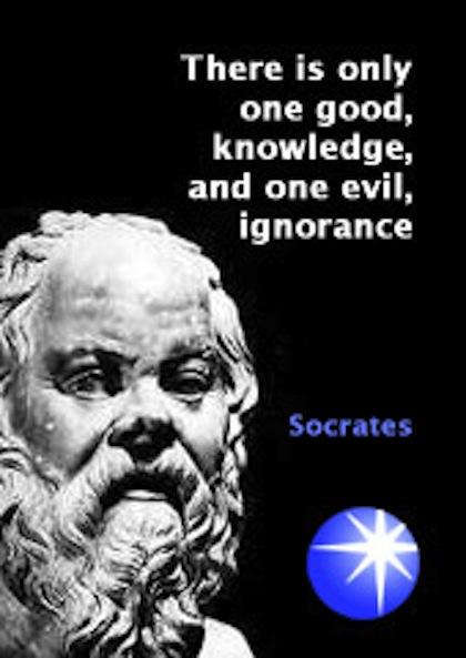Famous-Quotes-and-Sayings-about-Good-and-Evil-Evils-There-is-only-one-good-knowledge-and-one-evil-ignorance-Socrates-Picture-Quotes