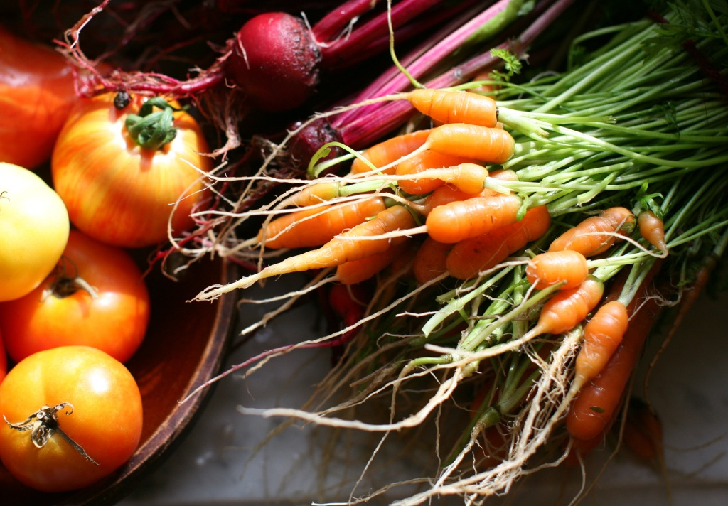 5 - babycarrots_beets_tomatoes_2009, Christopher Paquette