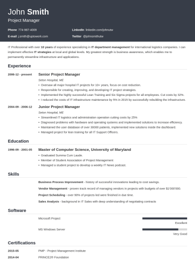 +20 Resume Templates [Download] Create Your Resume in 5 Minutes!