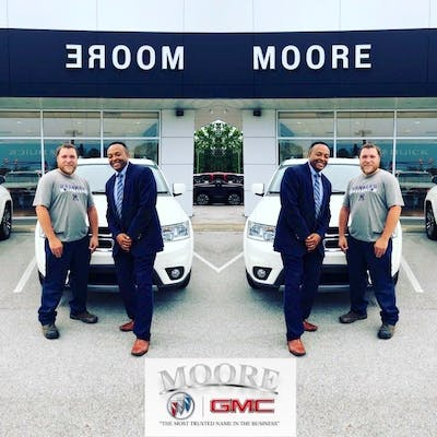 Moore Buick GMC   Buick  GMC  Used Car Dealer  Service Center     I bought my first car through Moore Buick GMC  They made it extremely easy  and comfortable  Everything went very smoothly and exactly how I would want  my