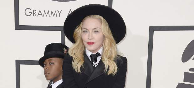 Madonna y su hijo David