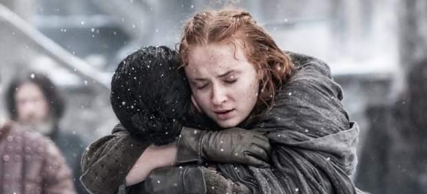 Jon Snow y Sansa Stark