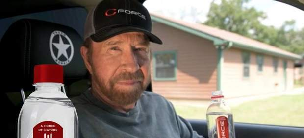 Agua de Chuck Norris