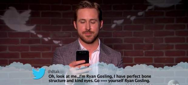 Ryan Gosling en los 'mean tuits' de Jimmy Kimmel