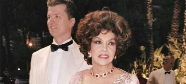 Javier Rigau y Gina Lollobrigida