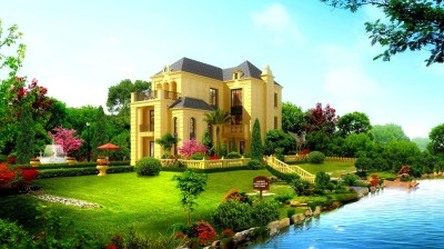 Beautiful house wallpaper | AllWallpaper.in #10490 | PC | en