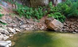 Lower Emerald Pool Zion Photo