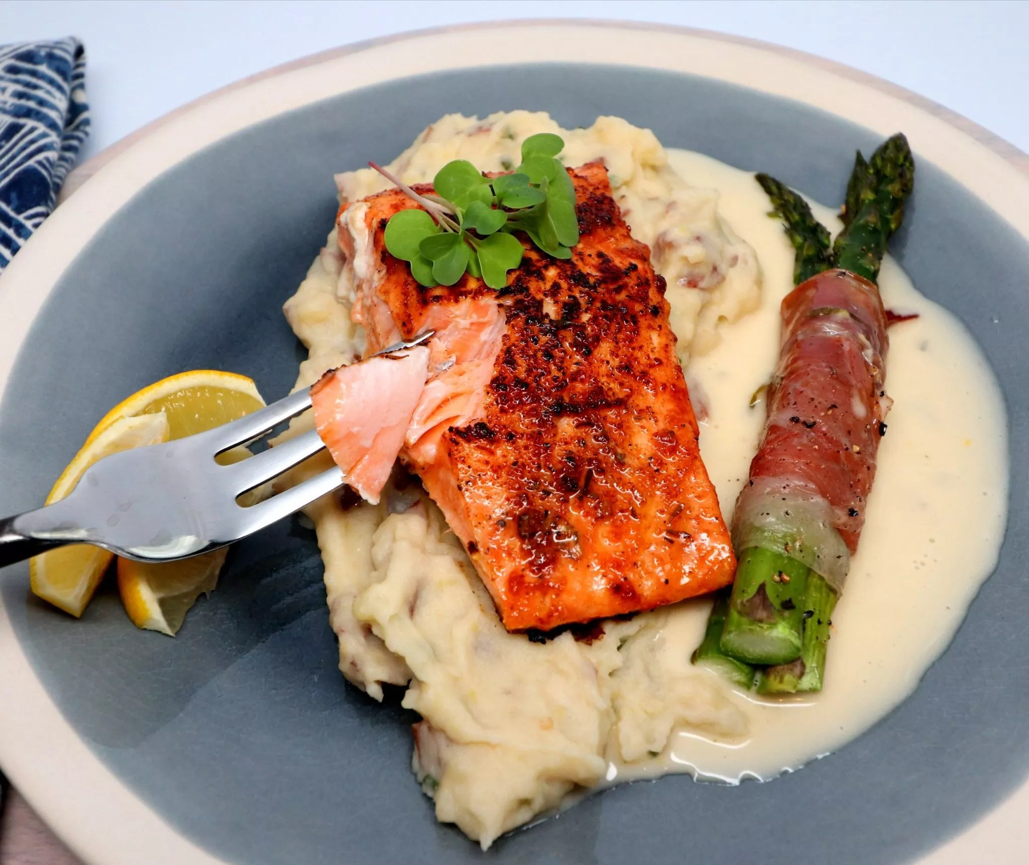 Corner Sous Vide Salmon Harvey Persson What To Serve Salmon Steaks Salmon On Grill What To Serve Serve Salmon Your Sides nice food What To Serve With Salmon