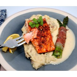 Corner Sous Vide Salmon Harvey Persson What To Serve Salmon Steaks Salmon On Grill What To Serve Serve Salmon Your Sides