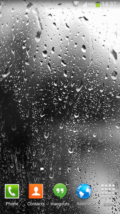 Raindrops Live Wallpaper HD 8 3.0 APK Download - Android Personalization Apps