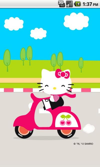Hello Kitty Live Wallpaper 3 1.0 APK Download - Android Personalization Apps