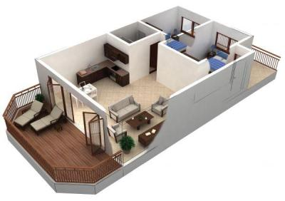 Model Home 3D 1.0 APK Download - Android Lifestyle Apps