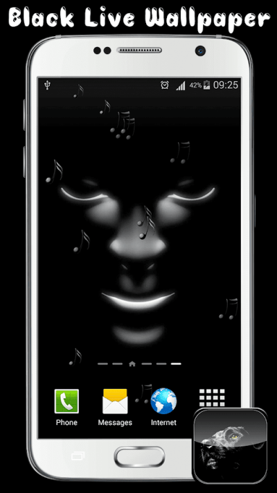 Black Live Wallpaper 1.0.1 APK Download - Android Personalization Apps