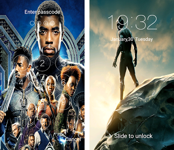 Black Panther T'Challa Look Screen & HD wallpapers Apk Download latest version 3.0.0- com ...