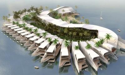 Resort - Ocean life, The world, Srilanka island | Mahmoud Abdel Mohsen | Archinect