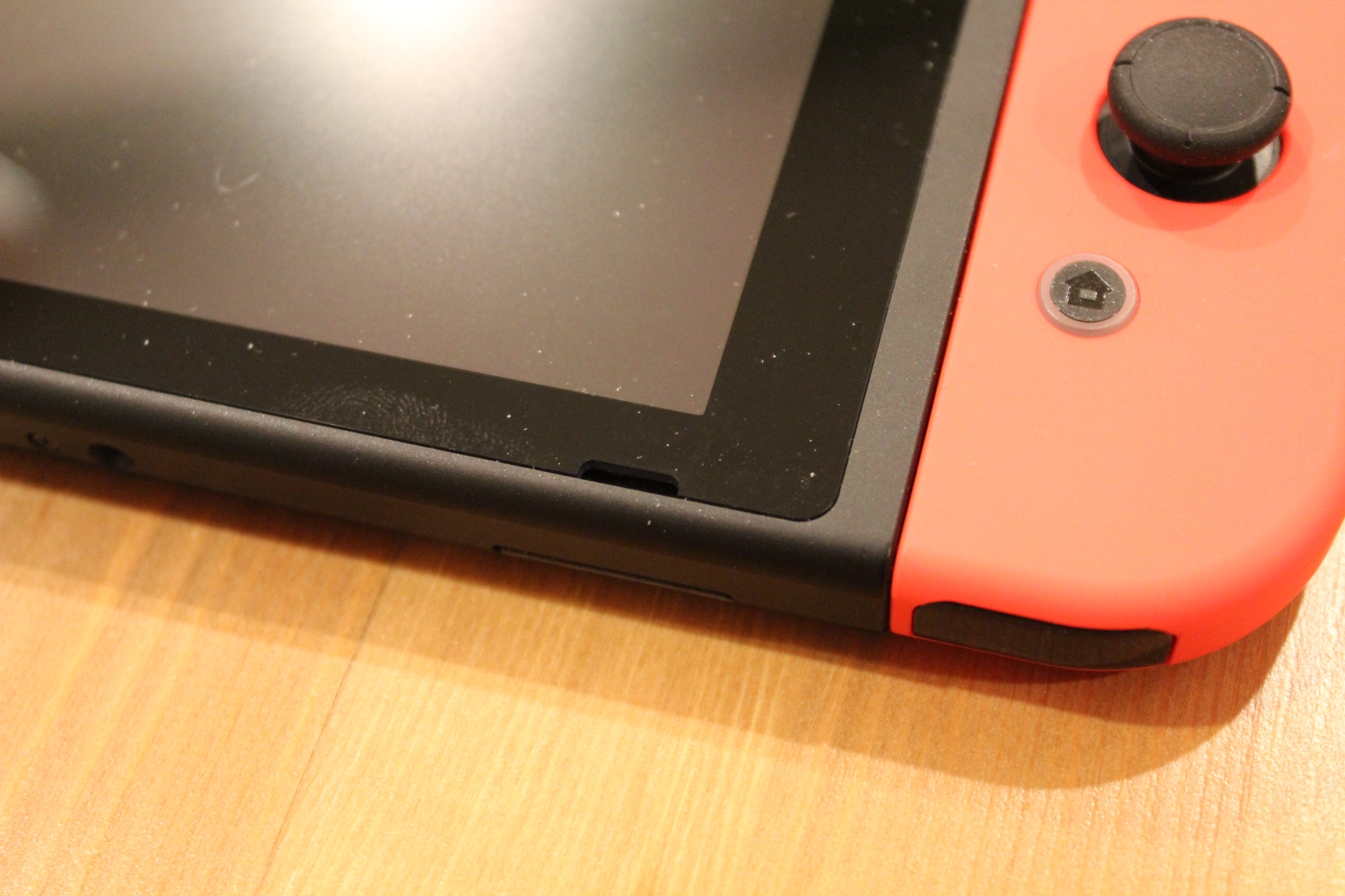 This black slit in the Switch hardware is one of its two speakers. It