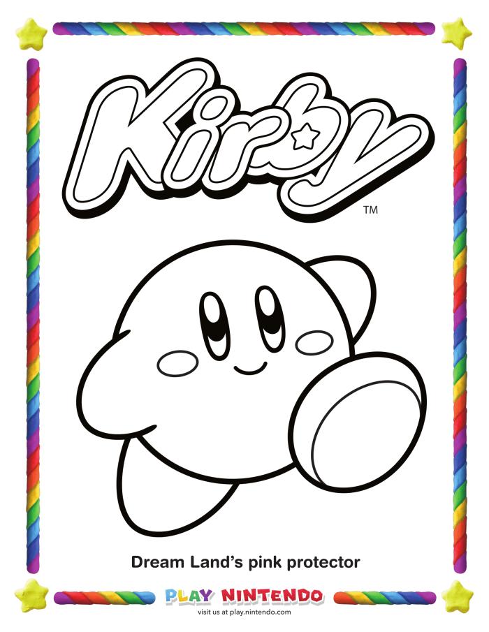 Perfecto Colorear Fuego Kirby Para Colorear Cresta - Ideas Para ...