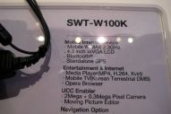 Samsung SWT-W100K Mobile Internet Device hands on! - Image 1 of 4