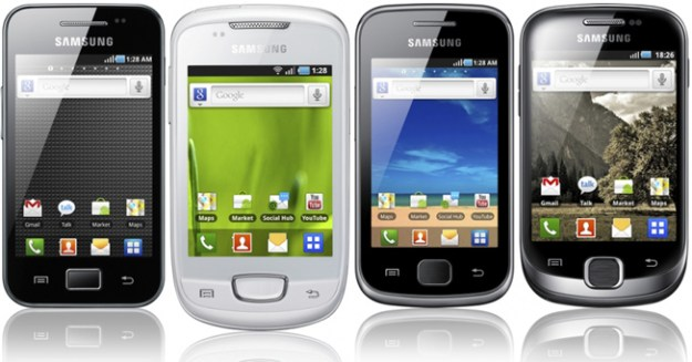 Samsung Galaxy Core Galaxy Ace Smartphones