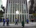 Live from 5th Ave Apple Store unveiling - Image 3 of 47
