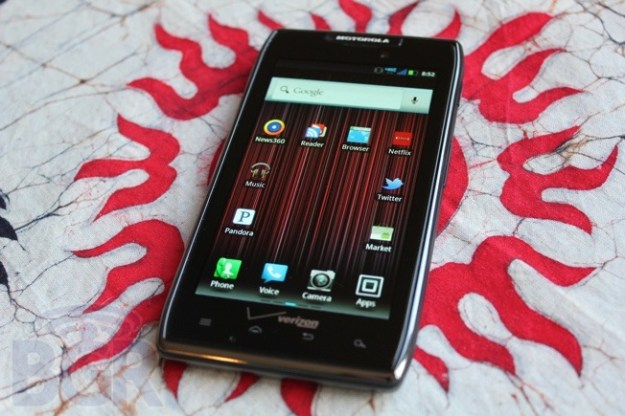 DROID RAZR Jelly Bean Update