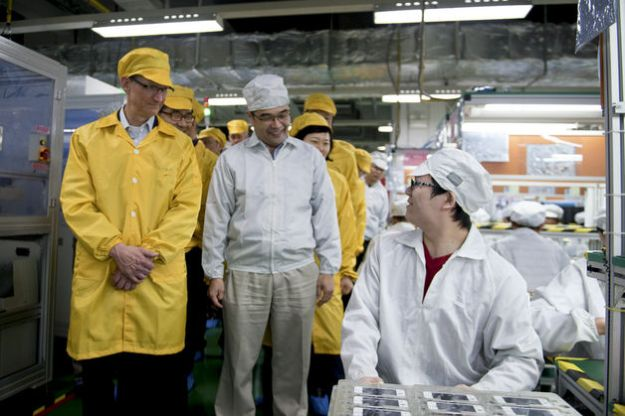 Foxconn iPhone 5S Production