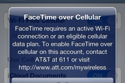AT&T FaceTime Controversy