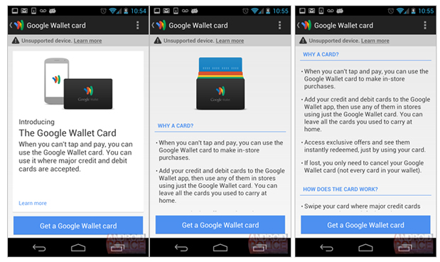 Google Wallet Card Rumor